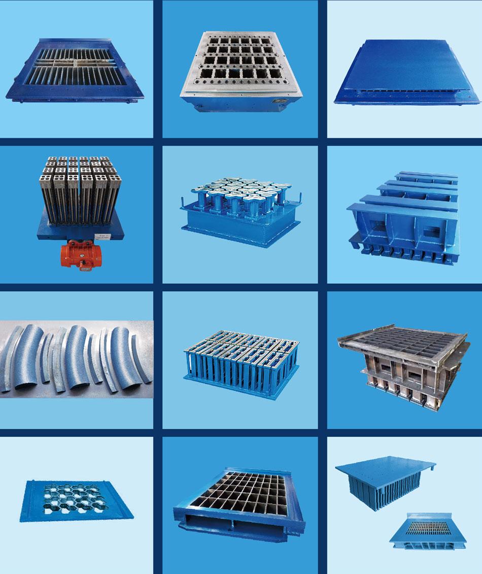 制砖机模具